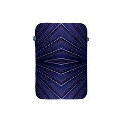 Blue Metal Abstract Alternative Version Apple Ipad Mini Protective Soft Cases by Simbadda