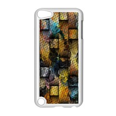 Fabric Weave Apple Ipod Touch 5 Case (white)