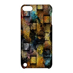 Fabric Weave Apple Ipod Touch 5 Hardshell Case With Stand by Simbadda