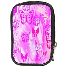 Butterfly Cut Out Pattern Colorful Colors Compact Camera Cases by Simbadda