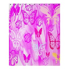 Butterfly Cut Out Pattern Colorful Colors Shower Curtain 60  X 72  (medium)  by Simbadda