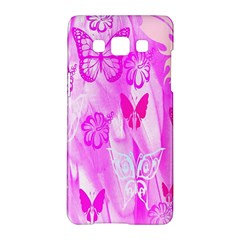 Butterfly Cut Out Pattern Colorful Colors Samsung Galaxy A5 Hardshell Case  by Simbadda