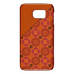 Vintage Paper Kraft Pattern Galaxy S6