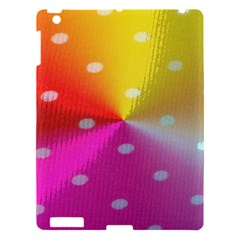 Polka Dots Pattern Colorful Colors Apple Ipad 3/4 Hardshell Case by Simbadda