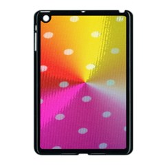 Polka Dots Pattern Colorful Colors Apple Ipad Mini Case (black) by Simbadda