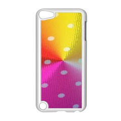 Polka Dots Pattern Colorful Colors Apple Ipod Touch 5 Case (white) by Simbadda