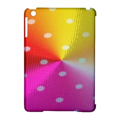 Polka Dots Pattern Colorful Colors Apple Ipad Mini Hardshell Case (compatible With Smart Cover)