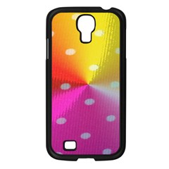 Polka Dots Pattern Colorful Colors Samsung Galaxy S4 I9500/ I9505 Case (black)