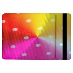 Polka Dots Pattern Colorful Colors Ipad Air Flip