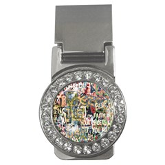 Graffiti Wall Pattern Background Money Clips (cz)  by Simbadda