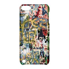 Graffiti Wall Pattern Background Apple Ipod Touch 5 Hardshell Case With Stand by Simbadda