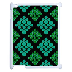 Vintage Paper Kraft Pattern Apple Ipad 2 Case (white) by Simbadda