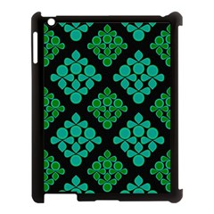 Vintage Paper Kraft Pattern Apple Ipad 3/4 Case (black) by Simbadda
