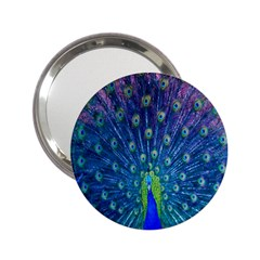 Amazing Peacock 2 25  Handbag Mirrors by Simbadda