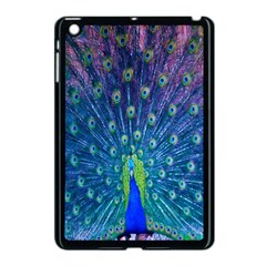 Amazing Peacock Apple Ipad Mini Case (black) by Simbadda