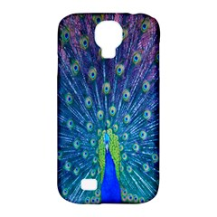 Amazing Peacock Samsung Galaxy S4 Classic Hardshell Case (pc+silicone)