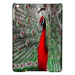 Red Peacock Ipad Air Hardshell Cases by Simbadda