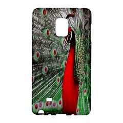 Red Peacock Galaxy Note Edge