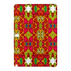 Abstract Background Design With Doodle Hearts Samsung Galaxy Tab Pro 12 2 Hardshell Case by Simbadda