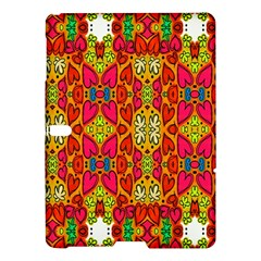 Abstract Background Design With Doodle Hearts Samsung Galaxy Tab S (10 5 ) Hardshell Case  by Simbadda
