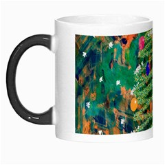 Watercolour Christmas Tree Painting Morph Mugs by Simbadda