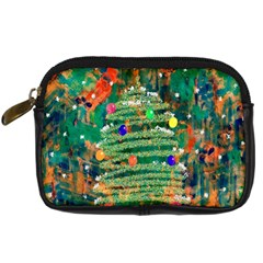 Watercolour Christmas Tree Painting Digital Camera Cases by Simbadda