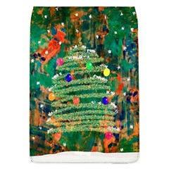 Watercolour Christmas Tree Painting Flap Covers (l)  by Simbadda