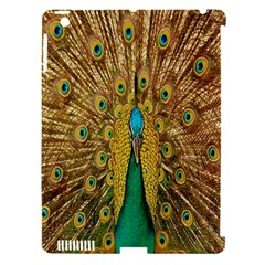 Peacock Bird Feathers Apple Ipad 3/4 Hardshell Case (compatible With Smart Cover) by Simbadda