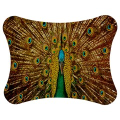 Peacock Bird Feathers Jigsaw Puzzle Photo Stand (bow)