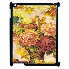 Victorian Background Apple Ipad 2 Case (black) by Simbadda