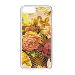 Victorian Background Apple Iphone 7 Plus White Seamless Case by Simbadda