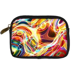 Colourful Abstract Background Design Digital Camera Cases by Simbadda