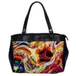 Colourful Abstract Background Design Office Handbags Front