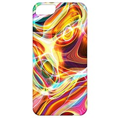 Colourful Abstract Background Design Apple Iphone 5 Classic Hardshell Case by Simbadda