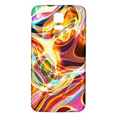 Colourful Abstract Background Design Samsung Galaxy S5 Back Case (white) by Simbadda