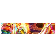 Colourful Abstract Background Design Flano Scarf (small) by Simbadda