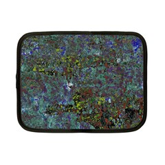 Stone Paints Texture Pattern Netbook Case (small)  by Simbadda