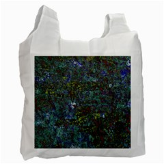 Stone Paints Texture Pattern Recycle Bag (one Side) by Simbadda