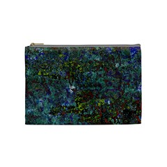 Stone Paints Texture Pattern Cosmetic Bag (medium)  by Simbadda