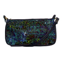 Stone Paints Texture Pattern Shoulder Clutch Bags by Simbadda