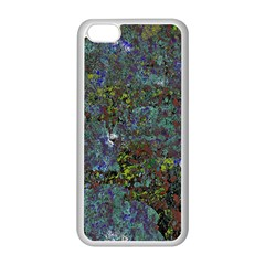 Stone Paints Texture Pattern Apple Iphone 5c Seamless Case (white)