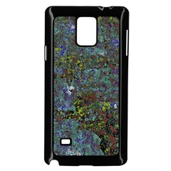 Stone Paints Texture Pattern Samsung Galaxy Note 4 Case (black) by Simbadda