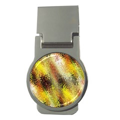 Multi Colored Seamless Abstract Background Money Clips (round)  by Simbadda