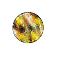 Multi Colored Seamless Abstract Background Hat Clip Ball Marker by Simbadda