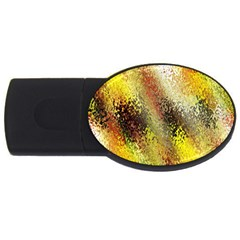 Multi Colored Seamless Abstract Background Usb Flash Drive Oval (4 Gb) by Simbadda