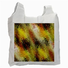 Multi Colored Seamless Abstract Background Recycle Bag (one Side)