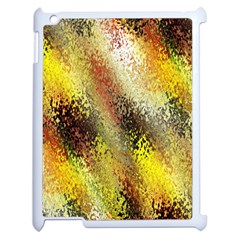 Multi Colored Seamless Abstract Background Apple Ipad 2 Case (white) by Simbadda