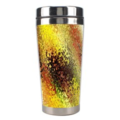 Multi Colored Seamless Abstract Background Stainless Steel Travel Tumblers by Simbadda