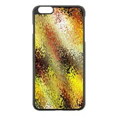 Multi Colored Seamless Abstract Background Apple Iphone 6 Plus/6s Plus Black Enamel Case