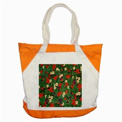 Berries And Leaves Accent Tote Bag by Simbadda